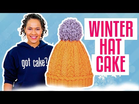How To Make A Classic WINTER HAT Out Of VANILLA & CHOCOLATE Cake Yolanda Gampp How To Cake It