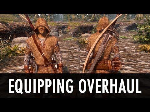 скачать мод Equipping Overhaul на скайрим - фото 4
