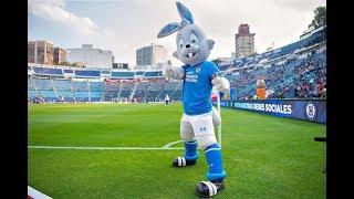 La Última llegada de Cruz Azul al Estadio Azul en el último partido oficial