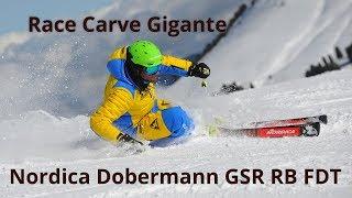 Nordica Dobermann GSR RB FDT - Ski Test Neveitalia 2018/2019