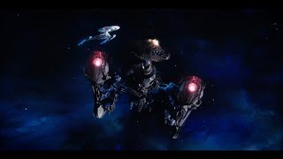 Star Trek Discovery - USS Discovery vs Klingon's Sarcophagus - Battle of Pahvo