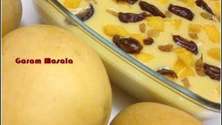 Mango Pudding / Home made mango pudding