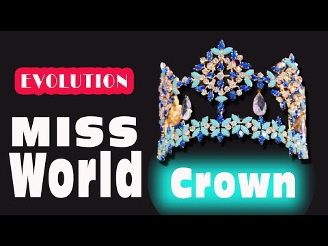Xxx Mp4 The EVOLUTION Of MISS WORLD Crown S History From 1951 To NOW 3gp Sex