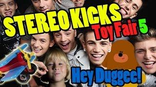 Toy Fair 2015 Part 5: Stereo Kicks, Hey Duggee, Halilit & Battat Airplane | Beau's Toy Farm