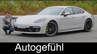 The fastest! Porsche Panamera Turbo S Hybrid FULL REVIEW Racetrack acceleration 2018 - Autogefühl