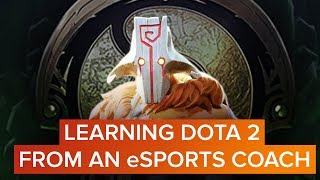 I recruited a DOTA 2 coach to get ready for The International
