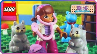 ♥ LEGO Disney Doc McStuffins Animal Rescue STOP MOTION (Episode 5)