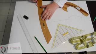 Nia Tasarım Bebe-Çocuk Giyim Modelistlik Kursu Jile Kalıbı Çizimi