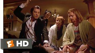 A Shot of Adrenaline - Pulp Fiction (6/12) Movie CLIP (1994) HD