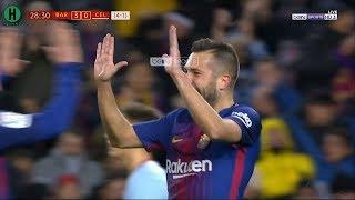 اهداف مبارة برشلونة و سيلتا فيغو   5-0    كأس ملك إسبانيا    11-1-2018   HD