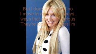 Not like That-Ashley tisdale(Lyrics)