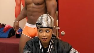 Da Brat Stars in Rickey Smiley For Real and can't keep her eyes off the package