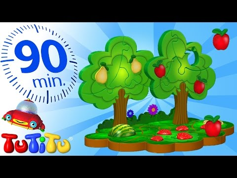 TuTiTu Specials Fruit Puzzle And Other Popular Toys for Children 90 Minutes