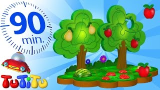 TuTiTu Specials | Fruit Puzzle | And Other Popular Toys for Children | 90 Minutes!