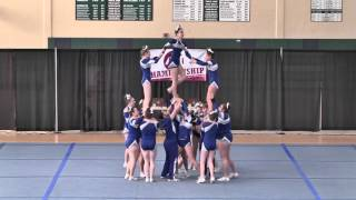 2016 Attleboro High School Large Co-Ed 2nd place States