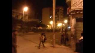 هجوم الاخوان على المتظاهرين  .مقر الاخوان بدمنهور