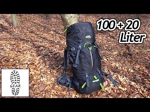 """Trekkingrucksack """"Mount 100+20"""" von Tashev"""