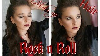 Rock n Roll Makyajı ve Saç Modeli (Metalik Tonlarda ve Kolay)