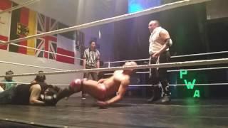 Mathias Glass vs Evander James vs Tank #PWA FNF 4/28/2017