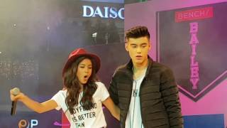 Bailey May & Ylona Garcia - O Pag Ibig #BenchXBailona