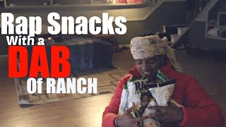 MIGOS RAP SNACKS WITH A DAB OF RANCH TASTE TEST!!