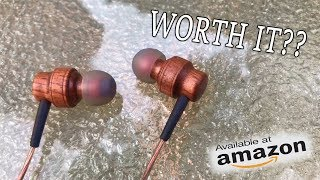 These Headphones are made of Wood?!?
