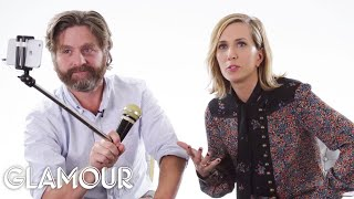 Zach Galifianakis and Kristen Wiig Rate Kid Stuff | Glamour