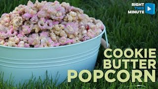 Easy Cookie Butter Popcorn Recipe