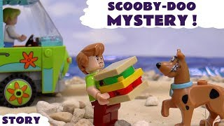 Scooby Doo LEGO Stop Motion Toy Story with Cars and Thomas & Friends |  Lego Mystery Machine