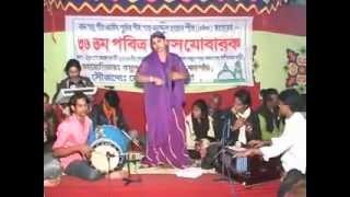 Baul song nidoya nistur bondhu by Sharmin Boshor