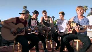 Original Boy Band Project   'Hiding in My Head' Live acoustic version