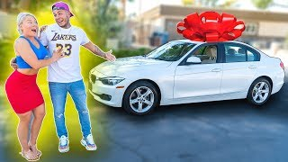 SURPRISING My GIRLFRIEND with her DREAM CAR...