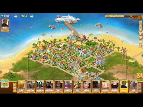 Facebook game Resort World pedras