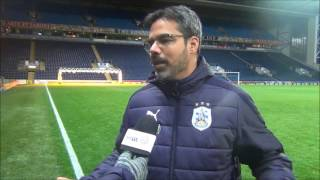 INTERVIEW: David Wagner reviewed Huddersfield Town's 1-1 draw with Blackburn Rovers