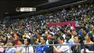Final - Tantowi AHMAD/ Liliyana NATSIR vsCHEN Hung Ling/CHENG Wen Hsing - Singapore Open
