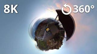 8K Test - Haleakala National Park 360 Video