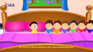 Ten in the Bed - iDaa Preschool Kids Rhymes. HD version.