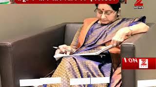 Syed Akbaruddin tweets Sushma Swaraj's photo from UN General Assembly