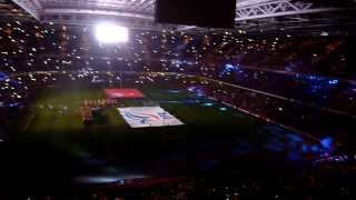 Wales vs. France: Pre-match show & National Anthems @ Millennium Stadium (21/02/2014) HD