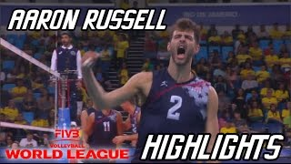 Aaron Russell 2016 World League Volleyball Highlights