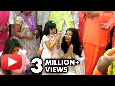 Xxx Mp4 Aishwarya Rai Aaradhya Look Adorable At Durga Puja 2016 3gp Sex