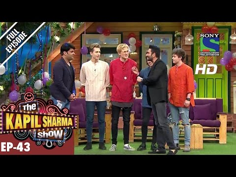 The Kapil Sharma Show Episode 43–दी कपिल शर्मा शो–Shekhar & Vamps in Kapil Show–17th September 2016
