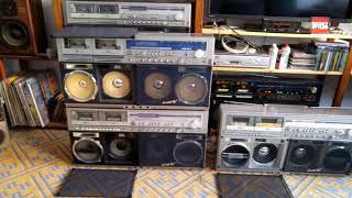 Sharp GF 777, 767, 999, 1000, Discolite 80th Boombox, Ghettoblaster!