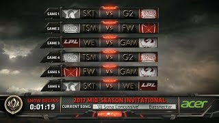 MSI 2017 Day 5 Highlights ALL GAMES ALL KILLS - Mid Season Invitational 2017 D5 Highlights