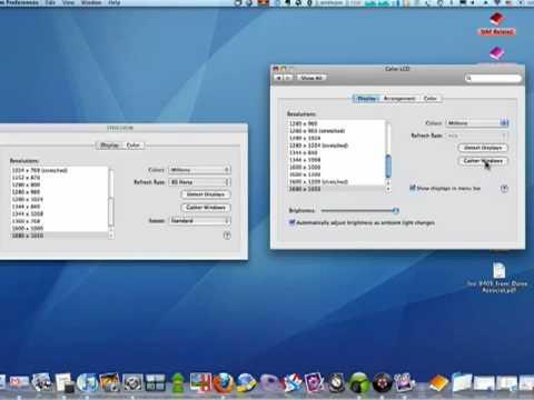 Tweaking your dual monitor display settings