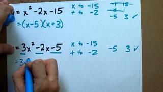 How to Factor any Quadratic Equation