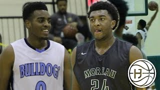 #1 Freshman in the Nation Kyree Walker vs 5 Star Troy Brown! Elite Matchup