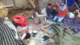 Naga Sadhu Baba at kolkata Ganga Sagar Mela 2017