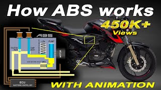 How ABS Works || Anti-Lock Braking System Explained || Single Channel and Dual Channel