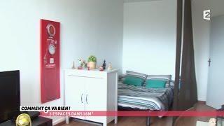 [DECO] 3 espaces dans 16 m² #CCVB